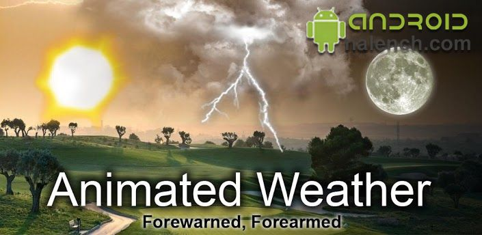Animated Weather Widget для android бесплатно