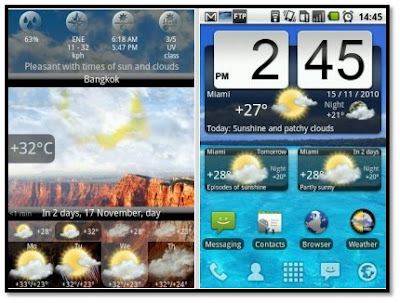 Скачать Animated Weather Widget для android бесплатно