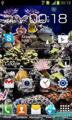 Живые обои для андроид аквариум скачать бесплатно 8