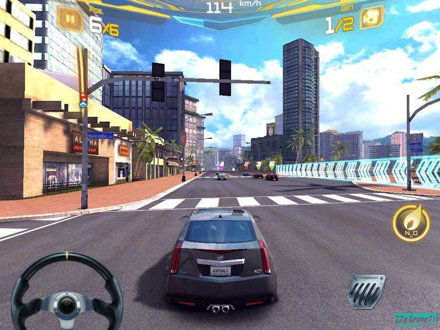 Gameloft HD Games: Asphalt 5 HD for Android (RUS)