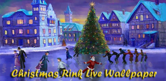 Christmas Rink Live Wallpaper для android бесплатно