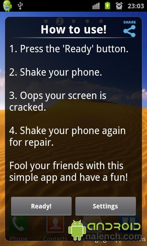 Скачать Crack Your Screen для android бесплатно