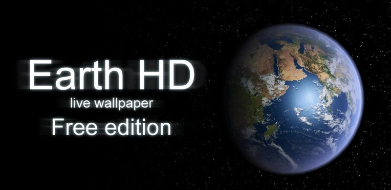 Earth HD live wallpaper для android бесплатно
