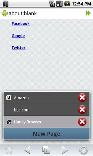 Скачать Harley Browser для android бесплатно