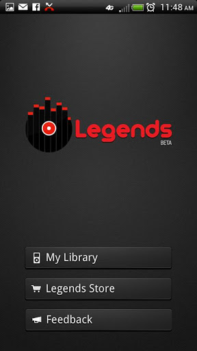 Скачать Legends Media Music Player для android бесплатно