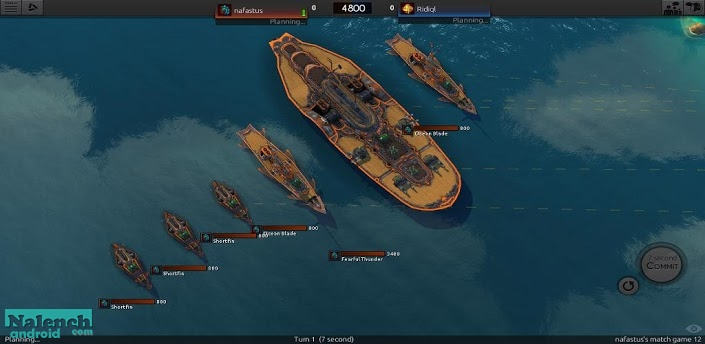 Скачать Leviathan: Warships для android бесплатно