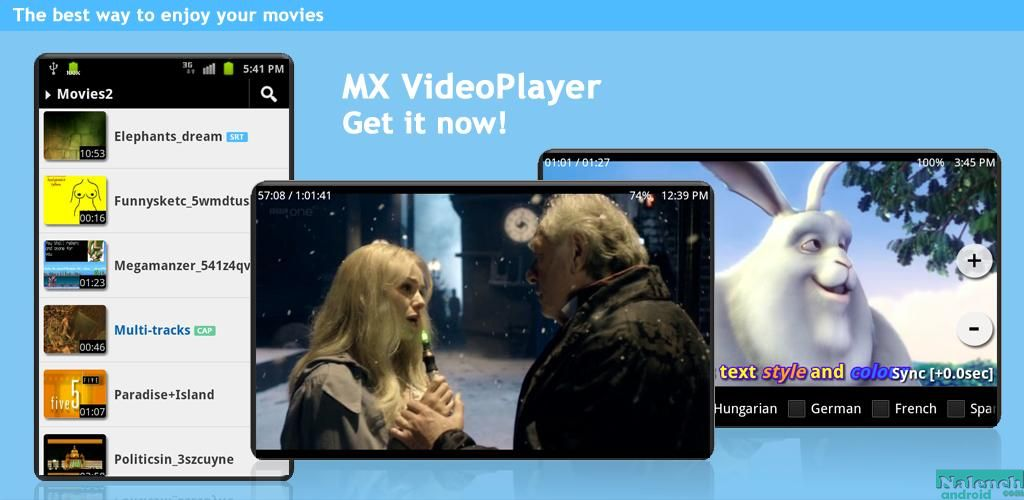 MX Video Player для android бесплатно
