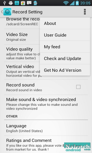 Скачать Screen Recorder для android бесплатно
