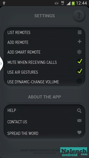 Скачать Smart Remote for Samsung Galaxy S4 для android бесплатно