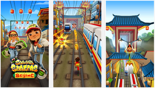 Скачать Subway Surfers Beijing для android бесплатно
