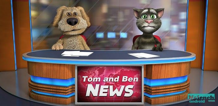 Talking Tom & Ben News для android бесплатно