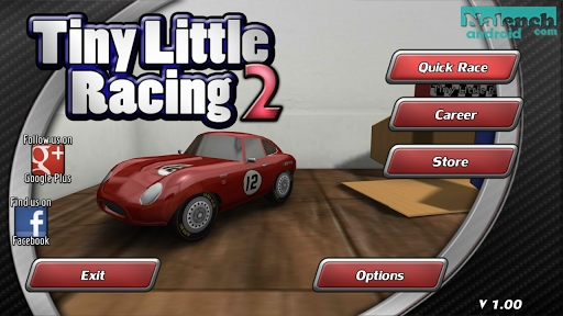 Скачать Tiny Little Racing 2 для android бесплатно