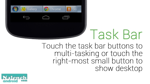Скачать Windows 7 Task Bar для android бесплатно