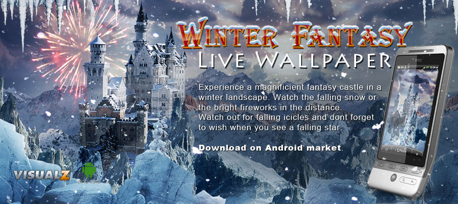Winter Fantasy Live Wallpaper для android бесплатно