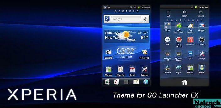 Dark go launcher theme на андроид скачать бесплатно apk.