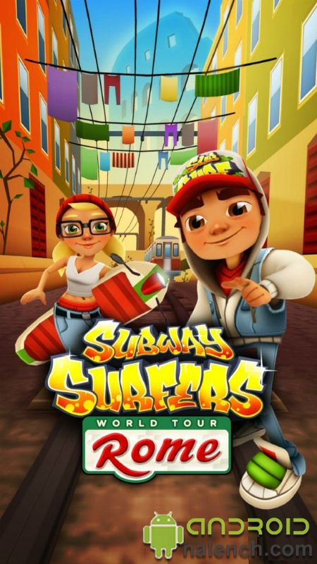 Скачать Subway Surfers Rome для android бесплатно