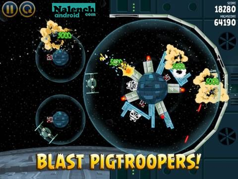 Скачать Angry Birds Star Wars HD для android бесплатно