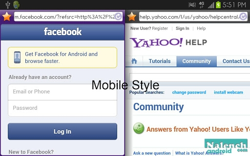 Purple Dual Browser для android бесплатно