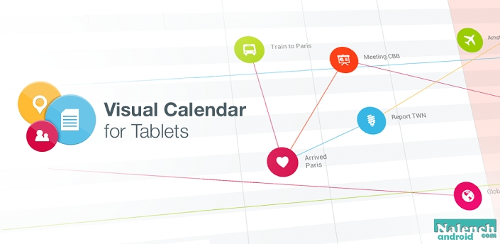 Visual Calendar for Tablets для android бесплатно