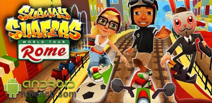 Subway Surfers Rome для android бесплатно