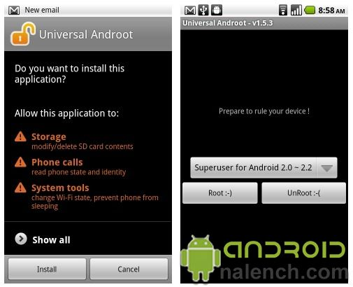 Скачать Universal AndRoot для android бесплатно